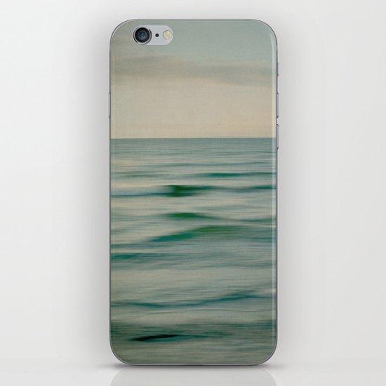 sea square V iPhone & iPod Skin