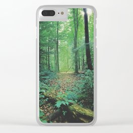 Forest Calm Clear iPhone Case