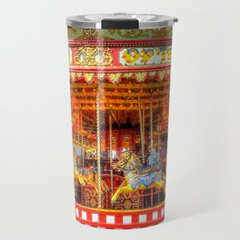 Carousel Merrygoround Travel Mug