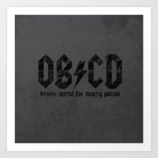 OB/CD Art Print