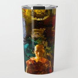 Monk Trip Travel Mug