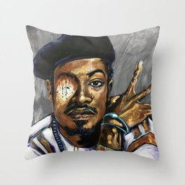Naturally Andre Throw Pillow