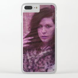 Lisa Marie Basile, No. 92 Clear iPhone Case