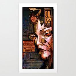 88 cents Art Print