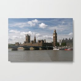 Houses of Parliament, London, UK Metal Print