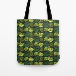 lotus in green Tote Bag