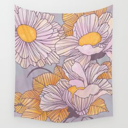 Sun Blossoms Wall Tapestry