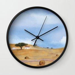 Alentejo landscape Wall Clock