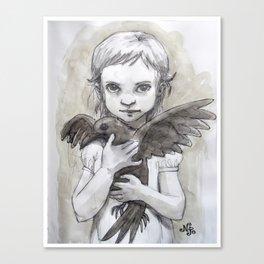 Ravenchild Canvas Print