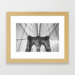 Follow These Lines Framed Art Print