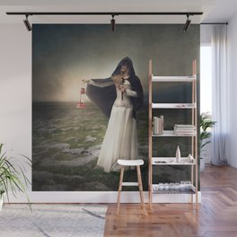 For those with eyes - Fine art magical portrait Wall Mural