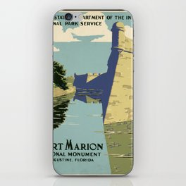 Fort Marion National Monument, St. Augustine, Florida iPhone Skin