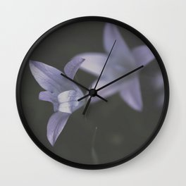 Botanical Still Life Photography Lily Wildflower Wall Clock