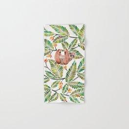 Happy Sloth – Tropical Green Rainforest Hand & Bath Towel