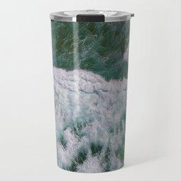 Surf Photography, Beach Wall Art Print, Ocean Water Surfing, Coastal Decor Travel Mug