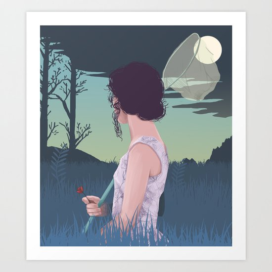 Dream finder Art Print