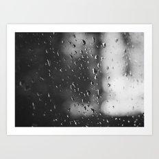Rain, Rain, Don't Go Away Art Print