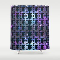 shining Shower Curtains featuring Shining Shapes by Nahal