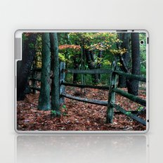 Forest Fence Laptop & iPad Skin