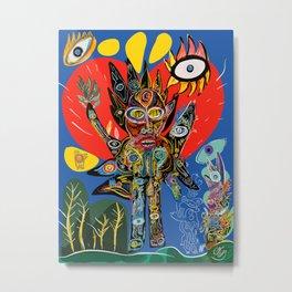 Spirit of Nature is talking to us  Metal Print