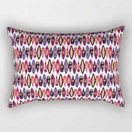 Drapeau de Larme Neon Rectangular Pillow