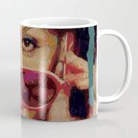 bianca Mugs featuring Bianca by Yuri Torres Bertazolli