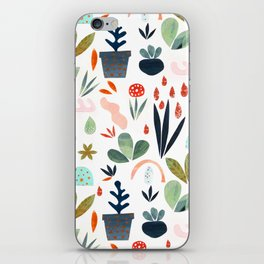 miniature garden iPhone Skin