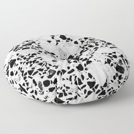 Real Terrazzo Stone Marble Concrete Mix Pattern Floor Pillow