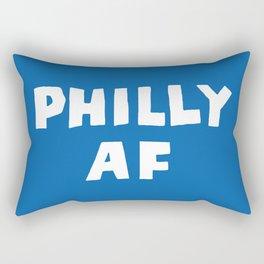 Philly AF (Blue) Rectangular Pillow
