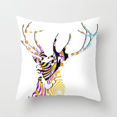Mr Stag Throw Pillow