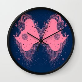 With the universe eyes Wall Clock