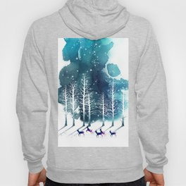 Winter Night 2 Hoody