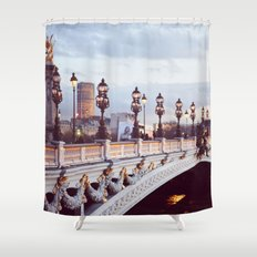Pont Alexandre III Paris. Shower Curtain