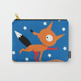 Fox And Stars Carry-All Pouch