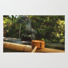 Japanese Temple Washing Station Rug