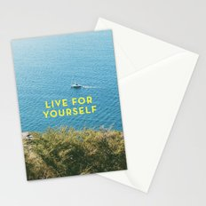 Live For Yourself Stationery Cards