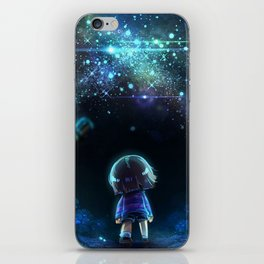 Starry (Night) Undertale iPhone Skin