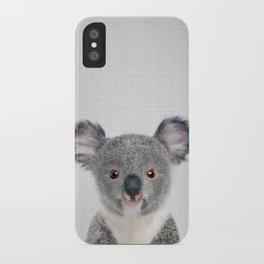 Baby Koala - Colorful iPhone Case