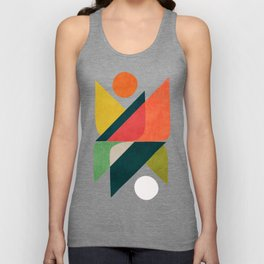 Reflection (of time and space) Unisex Tank Top