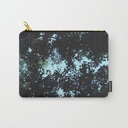 Tops of the leaves of trees silhouettes Carry-All Pouch