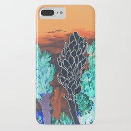 DESERT NIGHT Alpinia Purpurata iPhone Case