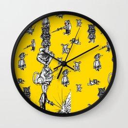 ASSOCIATIVE DRAWING Wall Clock