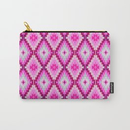 Fuchsia Kilim Moroccan print // Pussy Power Carry-All Pouch