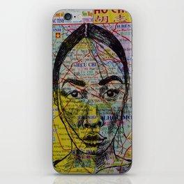 Viet Girl  iPhone Skin