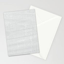 Gray Weathered Wood Stationery Cards
