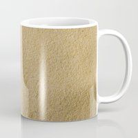 sand Mugs featuring Sand by Patterns and Textures