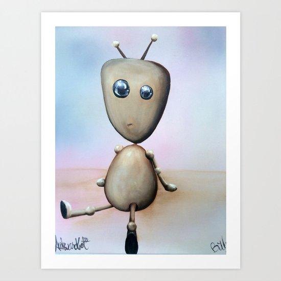 Awkwardbot by billypettingerart