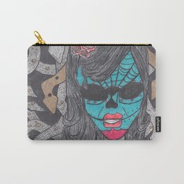 Day of the Dead Medusa Carry-All Pouch