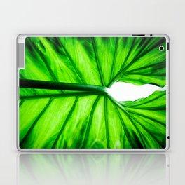 Green Leaf Laptop & iPad Skin