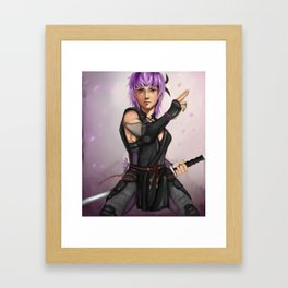 Ayane DOA5 Framed Art Print